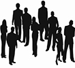 silhouettes_of_business_people_vector_148734