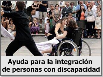 Ayuda para la integración de personas con discapacidad