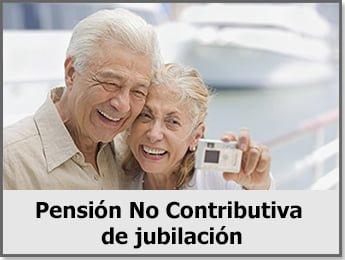 Pensión No Contributiva de Jubilación