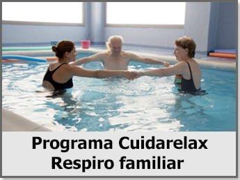 Programa Cuidarelax, Respiro familiar