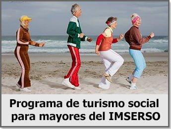 Programa de turismo social para mayores del IMSERSO 2014-2015