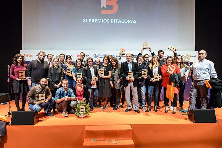 Ganadores XI Premios Bitacoras 2015