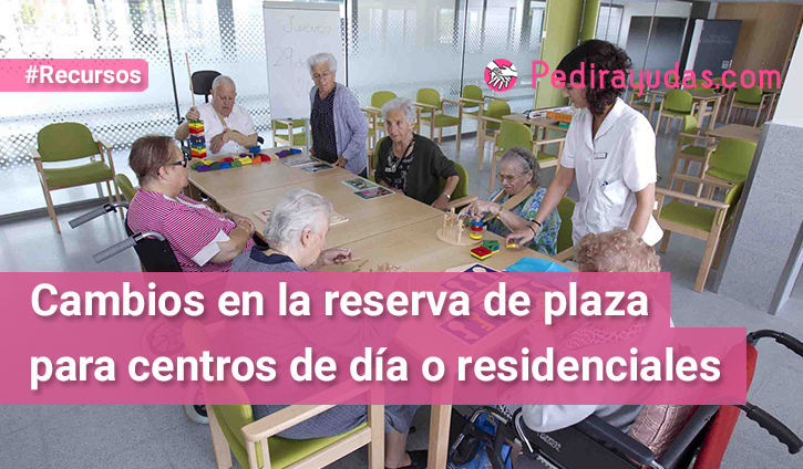 Centros residenciales Pedirayudas